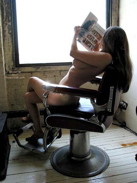 Pic #2 - VW_Laura On a Barber's Chair