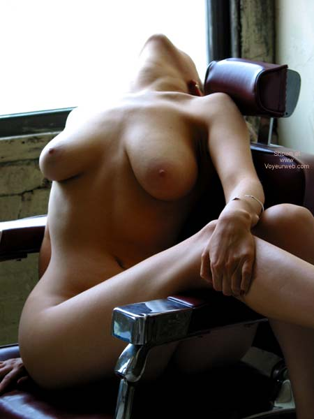 Pic #4 - VW_Laura On a Barber's Chair