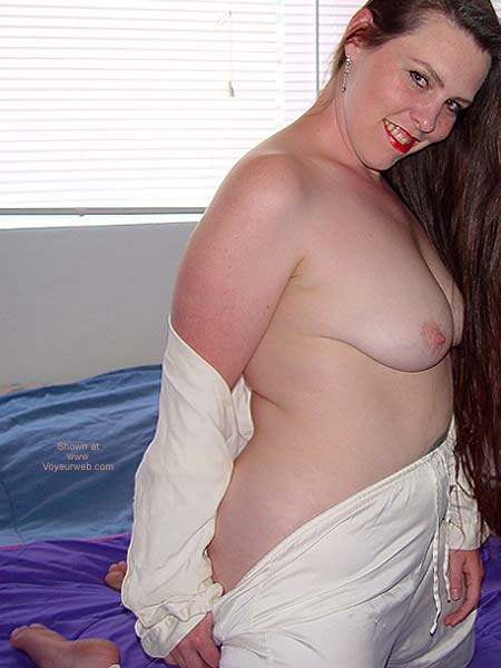 Pic #5 - Sweet Vicki BBW in Jammies 3