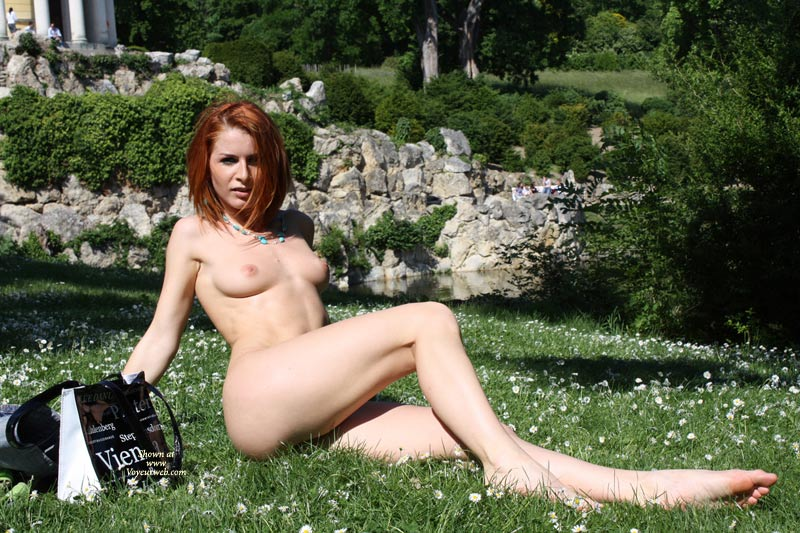 long with nude girls Naked red hair
