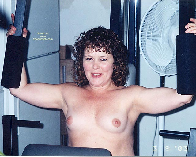 Pic #3 - Tonya  In The Gym