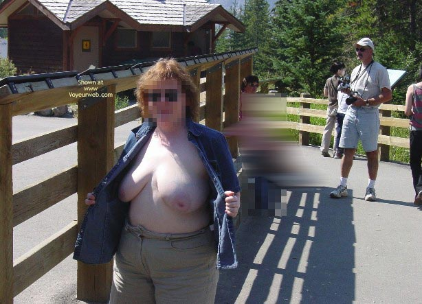 Pic #4 - Bev Shows Her Stuff In Public Ii