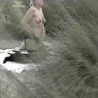 Val Gets Caught On Guernsey  Beach 2