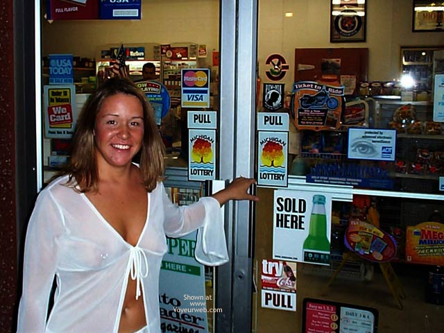 Pic #2 - Stephanie in a Party Store
