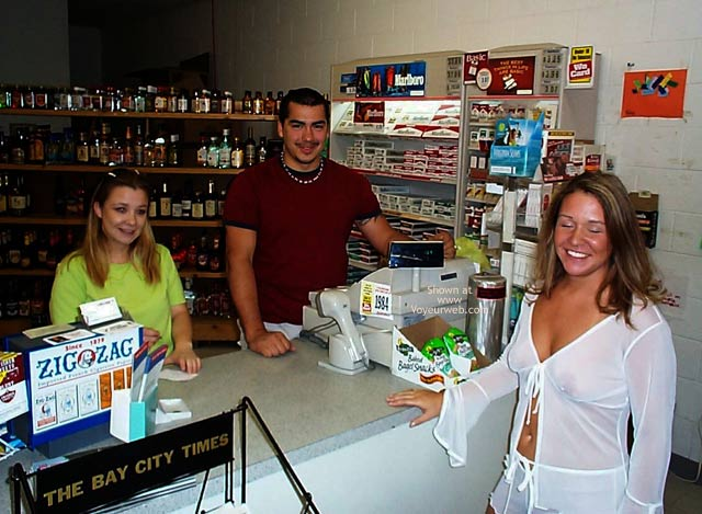Pic #3 - Stephanie in a Party Store