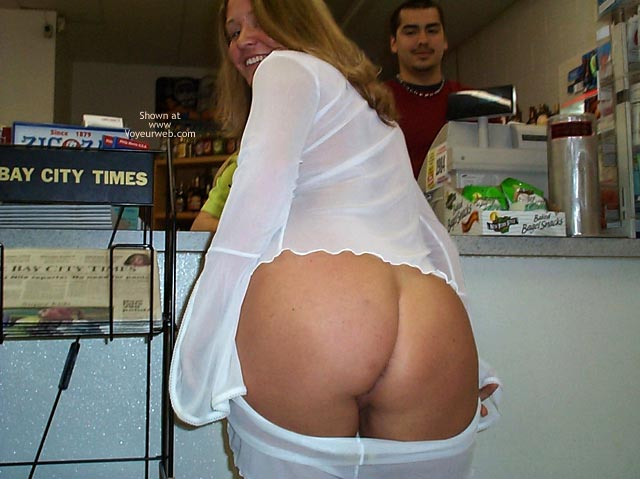Pic #4 - Stephanie in a Party Store