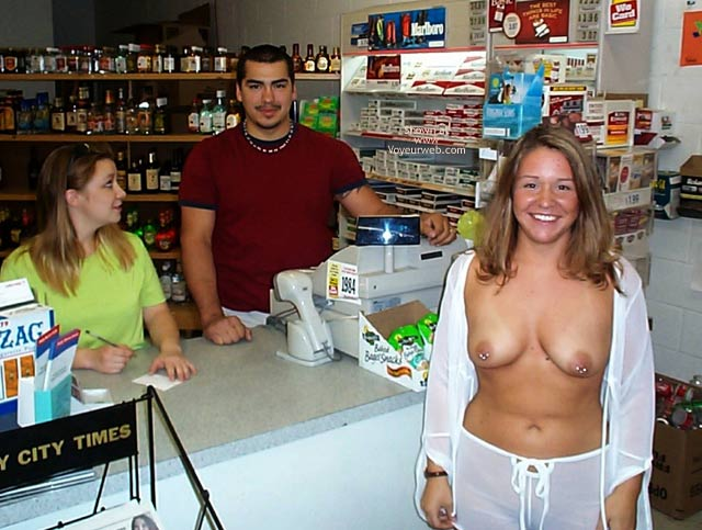 Pic #5 - Stephanie in a Party Store