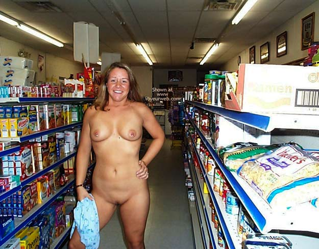 Pic #8 - Stephanie in a Party Store