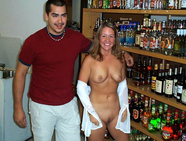 Pic #9 - Stephanie in a Party Store