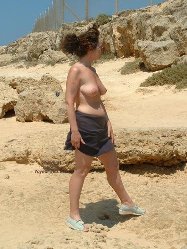Pic #3 - Trish on Hols 2002