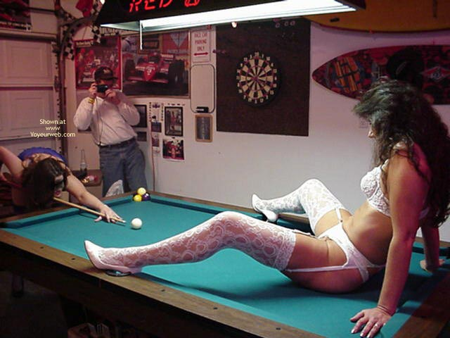 Pic #6 - *Gg Patricia And Mandy Play Billiards