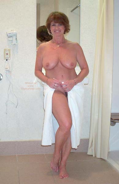 Pic #2 - Claire Taking a Shower!