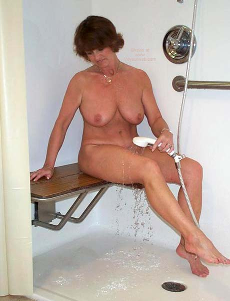 Pic #5 - Claire Taking a Shower!