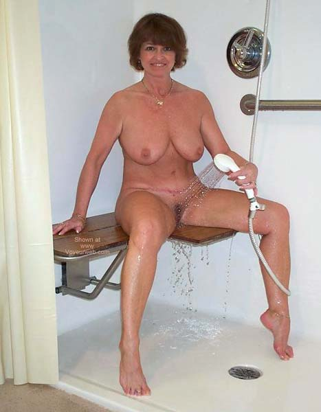 Pic #6 - Claire Taking a Shower!
