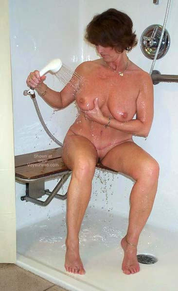 Pic #7 - Claire Taking a Shower!