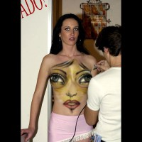 New Kind Of Body Painting