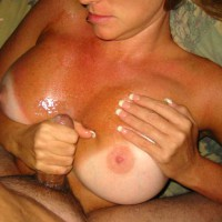 Babydoll Gets Tit Fucked And Jizzed