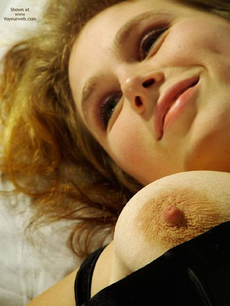 Pic #1 - Mischevious Smile , Mischevious Smile, Big Areola, Black Velvet Top