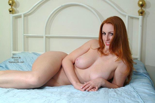 Pic #3 - 20 Yo Busty Redhead'S First Post