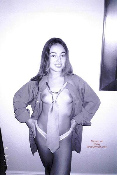 Pic #3 - Bomba Latina Wearing a Tie