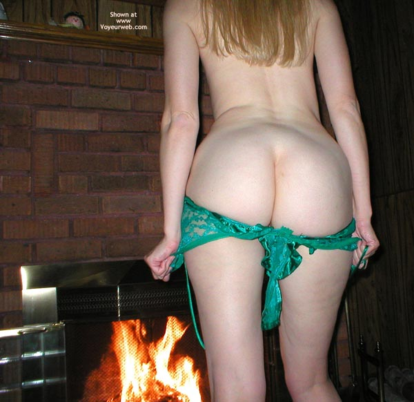 Pic #3 - My Wife'S Sweet Ass By The Fire