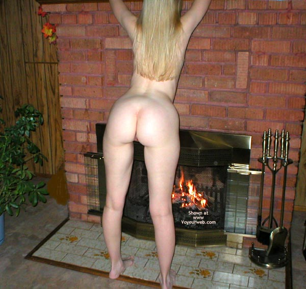 Pic #4 - My Wife'S Sweet Ass By The Fire