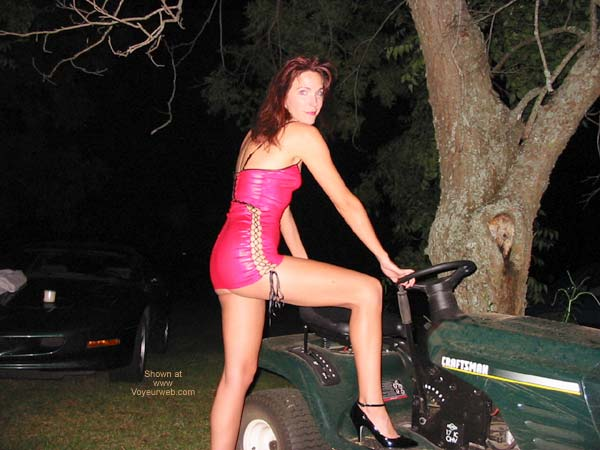 Pic #1 - Celeste and The Mower