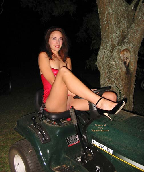 Pic #4 - Celeste and The Mower