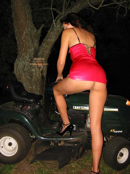 Pic #6 - Celeste and The Mower