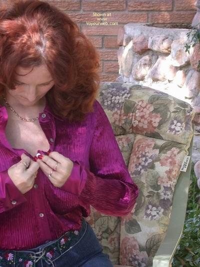 Pic #4 - Buxomgirl In Denim And Satin
