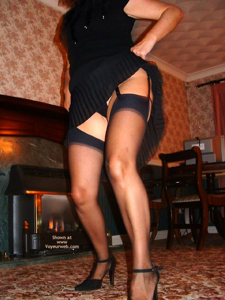Pic #2 - Dancing In Black Stockings