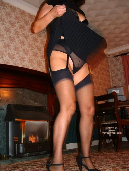 Pic #3 - Dancing In Black Stockings