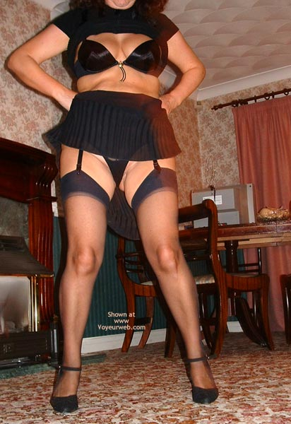 Pic #4 - Dancing In Black Stockings