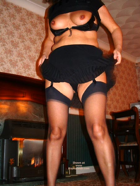 Pic #7 - Dancing In Black Stockings