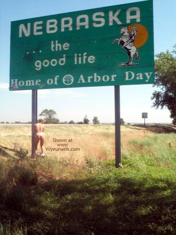 Pic #3 - American Flasher On The Road