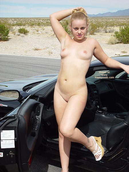 Pic #9 - Bianca Getting Naughty On The Vette
