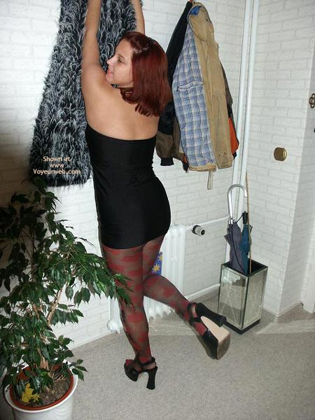 Pic #2 - More Bum And Pantyhose