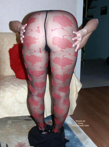 Pic #8 - More Bum And Pantyhose