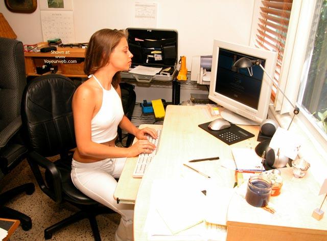 Pic #1 - Yevette Virgin White Tease
