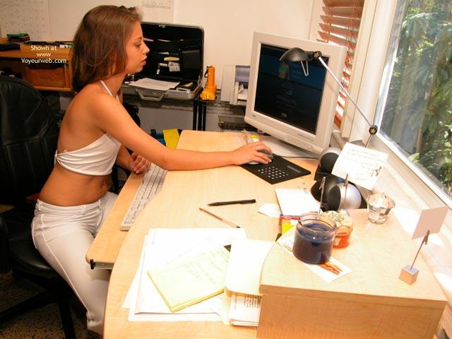 Pic #2 - Yevette Virgin White Tease