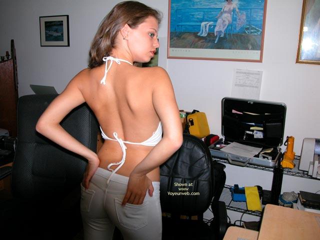 Pic #6 - Yevette Virgin White Tease