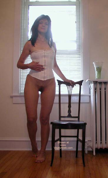 Pic #3 - Laila White Panties & Corset