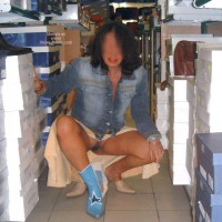 Irene From Italy in a Shopping Day