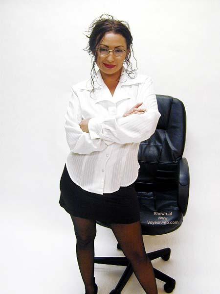 Pic #1 - Bound Secretary Gloria