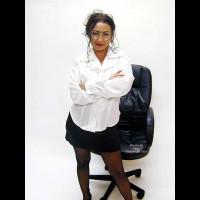 Bound Secretary Gloria
