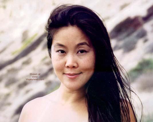 Pic #5 - Asian GF Lani Nude at Blacks Beach 2