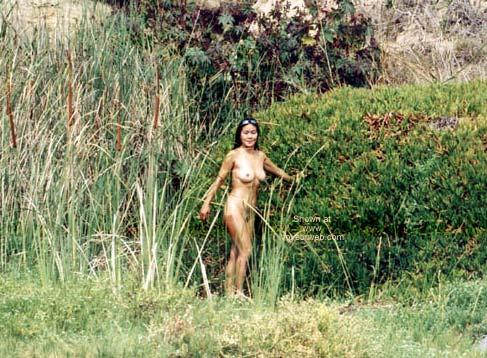 Pic #8 - Asian GF Lani Nude at Blacks Beach 2