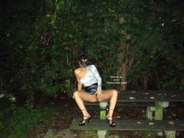 Pic #6 - Photos de Lisa Nue en Pleine Rue