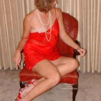 1st Time Lady In Red