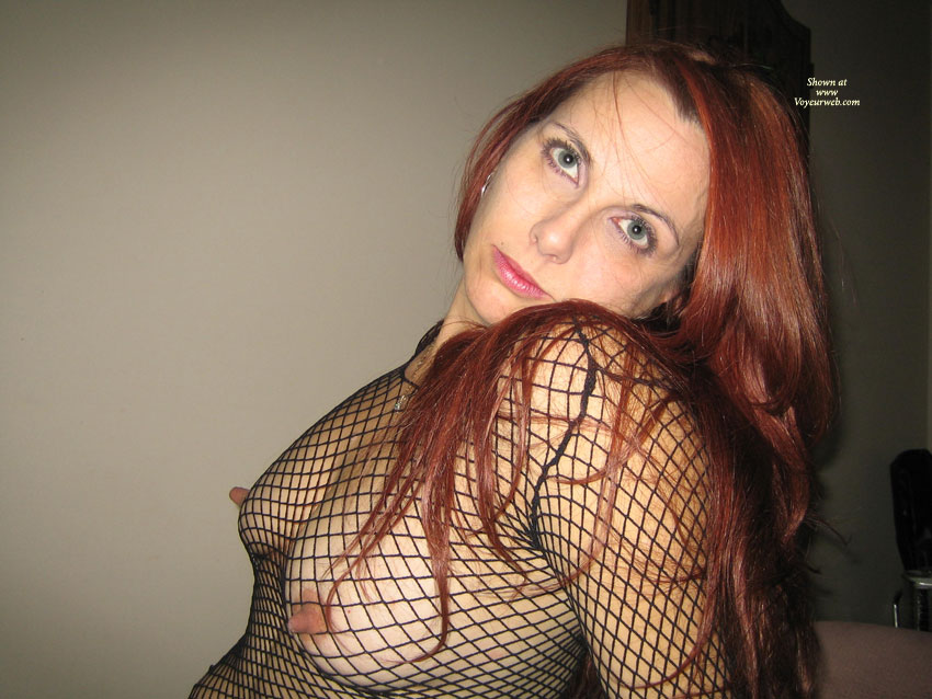 Pic #1 - Long Nipples Through Fishnet - Hard Nipple, Long Nipples , Errect Large Nipples, Perky Hard Nipples, Fishnet Bodysuit, Perky Redhead With Poking Nips, Fishnet Titties, Nipples And The Nets!!, Fishnet Body Suit, Lovely Natural Breasts